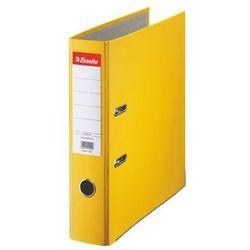 ESSELTE Segregator A4 ekonomiczny z mechanizmem dźwigniowym 75mm, żółty
