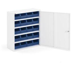 Aj produkty Szafka warsztatowa z pojemnikami, 800x660x275 mm, biały