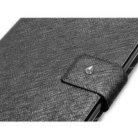 Puro  booklet - etui samsung galaxy note (czarny) (8033830040191)