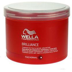 Wella Brilliance - maska do cienkich włosów farbowanych 500ml - produkt dostępny w Estyl.pl