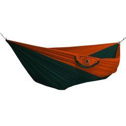 Hamak duży, zielono - pomarańczowy THK-(1)