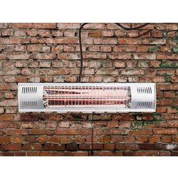 Beliani Elektryczny ogrzewacz ogrodowy - promiennik ścienny - fuego (7081457642374)