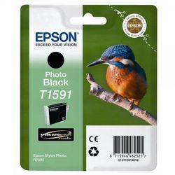 Epson oryginalny ink C13T15914010, photo black, 17ml, Epson Stylus Photo R2000 z kategorii Tusze