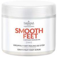 smooth feet grejpfrutowy peeling do stóp marki Farmona