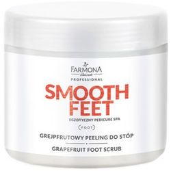 smooth feet grejpfrutowy peeling do stóp, marki Farmona