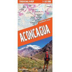 Aconcagua Laminowana mapa trekingowa, książka w oprawie miękkej