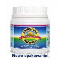 Tabletki Spirulina hawajska Pacifica (600 tabl.) Cyanotech
