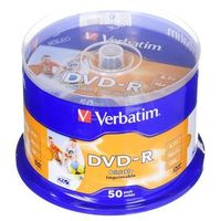 Dvd-r  4,7gb 16x 50szt. spindle od producenta Verbatim