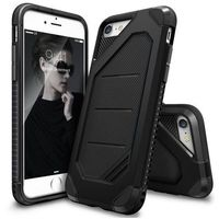 Rearth Etui ringke max apple iphone 7 sf black - czarny (8809512154780)
