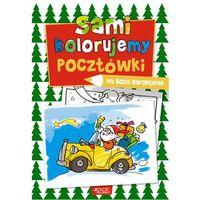 Sami kolorujemy pocztówki na Boże Narodzenie + zakładka do książki GRATIS (9788379712946)