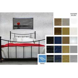 łóżko metalowe kama 140 x 200 marki Frankhauer