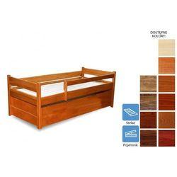 łóżko dziecięce heros z pojemnikiem 90 x 200 marki Frankhauer