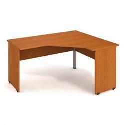 Stół ergo lewy, 1600 x 1200 x 755 mm, czereśnia marki B2b partner