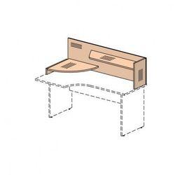 B2b partner Nadstawka na biurko, lewa, klon
