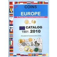 Coins of Europe. Catalog 1901-2010. Circulated & Commemorative Coins. New.
