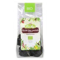 Bio raj (konfekcjonowane) Śliwki bez pestek (suszone) bio 100 g bio raj (5907738151415)