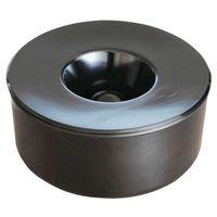 Popielnica stołowa Corey Ø 130x60 mm czarny, 125229