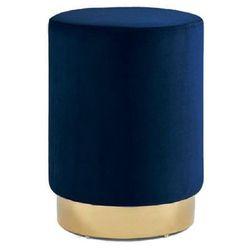 Intesi Pufa delice velvet m niebieska - niebieski ||złoty (5902385740357)
