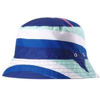 Kapelusz przeciwsłoneczny Reima UV Viehe niebieski we wzór, dwustronny z kategorii nakrycia głowy i czapki