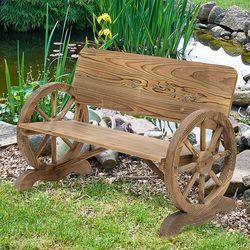 Mh handels Ławka ogrodowa drewno stylowa