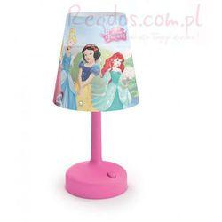 Lampka nocna stojąca disney princess phillips led księżniczki marki Philips disney