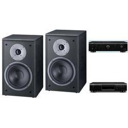 DENON PMA-520 + DCD-520 + MAGNAT SUPREME 202 - wieża, zestaw hifi - zmontuj tanio swój zestaw na stronie - produkt z kategorii- Zestawy Hi-Fi