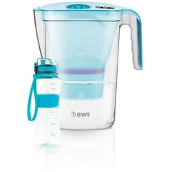 BWT Dzbanek filtrujący Vida Mei 2,6 l, niebieski + butelka sportowa outdoor, 118960