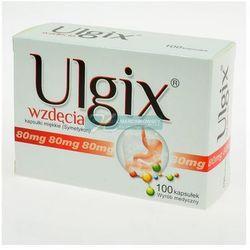 ULGIX wzdęcia 100 kapsułek - produkt farmaceutyczny