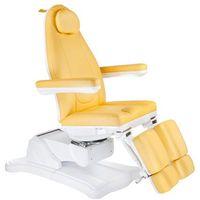 Elektryczny fotel kosmetyczny Mazaro BR-6672C Miodowy