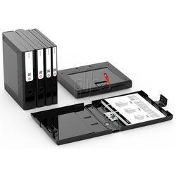Segregator NewBinder zamykany 50mm czarny 1815998 (5902541815998)