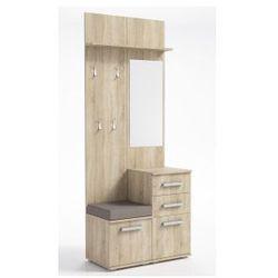"Front furniture Zestaw / garderoba do przedpokoju ""aga 3"" - sonoma (7441302110904)"