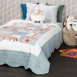 4Home Narzuta na łóżko dla dzieci Animals, 140 x 200 cm, 222320