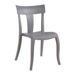 Krzesło ogrodowe na balkon Toro S Rattan Papatya szare - sprawdź w wybranym sklepie
