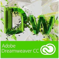 dreamweaver cc pl dla użytkowników wcześniejszych wersji - subskrypcja od producenta Adobe