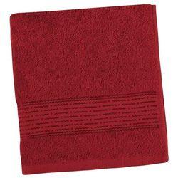 Bellatex  ręcznik kamilka pasek bordowy, 50 x 100 cm
