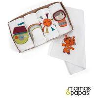 MAMAS&PAPAS Pieluszki muślinowe - opakowanie prezentowe, kolekcja Timbuktales, towar z kategorii: Pozostałe