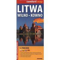 Litwa, Wilno, Kowno. Mapa samochodowa 1:700 000, książka z kategorii Mapy i atlasy