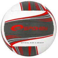 Piłka siatkowa SPOKEY 837396 Gravel II Czarno-Czerwony (rozmiar 5)