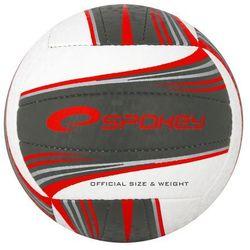 Piłka siatkowa SPOKEY 837396 Gravel II Czarno-Czerwony (rozmiar 5) z kategorii Siatkówka
