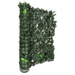 Blumfeldt fency dark leaf osłona balkonowaosłona przed wiatrem 300x100cm ciemnozielony miks