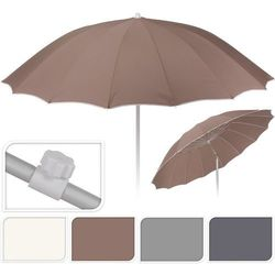 Progarden Parasol ogrodowy 240x225cm jasno-szary