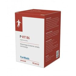 F-VIT B6 ForMeds ilość porcji: 60, produkt z kategorii- Witaminy i minerały