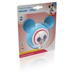 Philips  dis-mickey-wall lamp-blue 71766/30/16