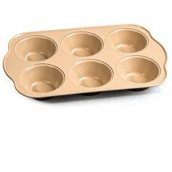 4Home Forma do muffinek, brązowy, 28,6 x 17,8 x 3,4 cm