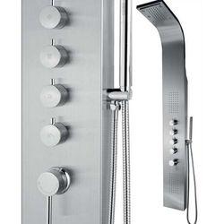 Panel prysznicowy z hydromasażem i oświetleniem IN-8839L