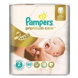 Pieluszki Pampers Premium Care 1 NEWBORN + Premium Care 2 MINI 168ks