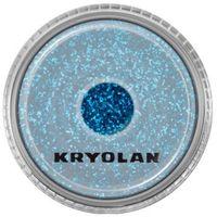 polyester glimmer medium (royal blue) średniej grubości sypki brokat - royal blue (2901) marki Kryolan