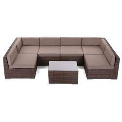 NAROŻNIK TECHNORATTANOWY KANSAS MAXI - produkt z kategorii- Pozostałe meble ogrodowe