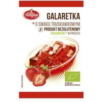 40g galaretka o smaku truskawkowym bio marki Amylon