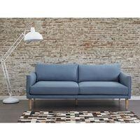 Sofa niebieska - kanapa - sofa tapicerowana - UPPSALA